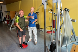 Indoortraining ambulante pulmonale Rehabilitation
